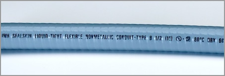 International Sealskin™ Non-Metallic Liquid-Tight Conduit (UL Listed CSA Certified, Type NMUA)